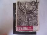 Sellos de America - Guyana -  Easter - Pascua de Resurrección 1974.