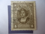 Stamps of the world : Chile :  Cristobal Colón (1457-1506) Serie:Presidentes y Celebridades.