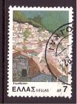 Sellos de Europa - Grecia -  serie- Paisajes