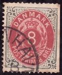 Stamps Denmark -  Previo pago postal-margen derecho