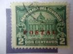 Sellos de America - Ecuador -  Casa de Correo - Edificio dse Correos t telégrafos de Guayaquil - Tax Postal