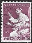 Stamps : Europe : Vatican_City :  437 - Pablo VI