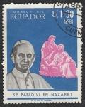 Stamps Ecuador -  460 - Pablo VI