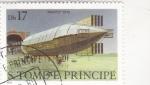 Sellos de Africa - Santo Tomé y Principe -  DIRIGIBLE- MAYFLY'1910