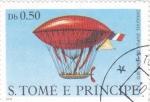 Sellos de Africa - Santo Tomé y Principe -  DIRIGIBLE DUPUY DE HOME 1872