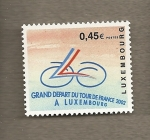 Stamps Europe - Luxembourg -  Salida del Tour de Francia desde Luxemburgo