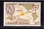 Sellos de Oceania - Australia -  Bicentenario del avistamiento de Venus por J. Cook
