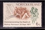 Stamps Australia -  Centenario muerte de B. Patteson