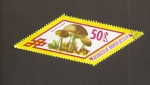 Stamps Mongolia -  Boletus scaber