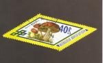 Stamps Mongolia -  Boletus aurantiacus