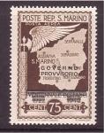 Stamps San Marino -  Gobierno Provisional