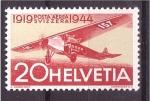 Sellos de Europa - Suiza -  25 aniv. correo aéreo