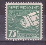 Stamps Netherlands -  serie- Aviadores