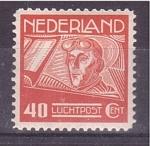 Sellos de Europa - Holanda -  serie- Aviadores