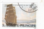 Sellos de Africa - Santo Tomé y Principe -   150 aniversario de FERDINAND VON ZEPPELIN