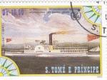 Stamps : Africa : São_Tomé_and_Príncipe :  25 ANIVERSARIO ORGANIZACIÓN MARÍTIMA INTERNACIONAL DE LAS NACIONES UNIDAS