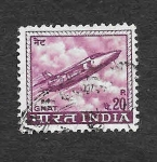 Stamps India -  Avión