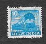 Stamps India -  411 - Locomotora Eléctrica