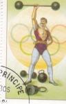 Stamps São Tomé and Príncipe -  OLIMPIADA DE VERANO LOS ANGELES'84