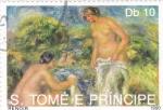 Stamps : Africa : São_Tomé_and_Príncipe :  PINTURA DE RENOIR