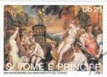 Stamps São Tomé and Príncipe -  PINTURA