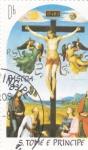 Stamps : Africa : São_Tomé_and_Príncipe :  CRUCIFICIÓN-RAFAEL