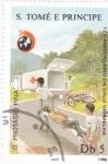 Stamps São Tomé and Príncipe -  125 ANIVERSARIO DE LA CRUZ ROJA