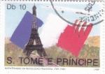 Sellos de Africa - Santo Tomé y Principe -  BICENTENARIO REVOLUCIÓN FRANCESA