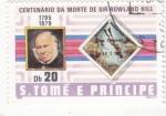 Stamps São Tomé and Príncipe -  CENTENARIO DE LA MUERTE DE SIR ROWLAND HILL