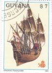 Stamps : America : Guyana :  GRANDE FRANCOISE