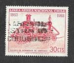 Sellos de America - Chile -  Centenario de la Brigada de Bombero de Santiago de Chile