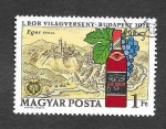 Stamps Hungary -  2166 - 1ª Exposición Mundial del Vino. Budapest