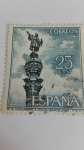 Stamps Spain -  Monumento