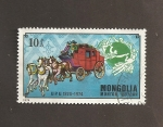 Stamps : Asia : Mongolia :  Diligencia