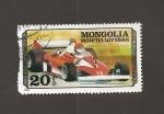 Stamps Mongolia -  Coche carreras