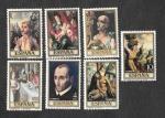 Stamps of the world : Spain :  Edf 1963-1972 - Día del Sello. Pintura