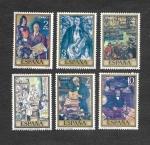 Stamps of the world : Spain :  Edf 2077-2083 - Día del Sello. Pintura