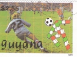 Stamps : America : Guyana :  COPA MUNDIAL DE FUTBOL ITALIA