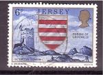 Sellos de Europa - Isla de Jersey -  Torre Seymour
