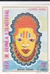 Sellos de Africa - Guinea Ecuatorial -  MASCARA AFRICANA