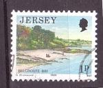 Sellos de Europa - Isla de Jersey -  serie- Vistas de Jersey
