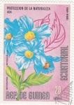 Stamps Equatorial Guinea -  FLORES- BETONICIFOLIA