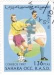Stamps Morocco -  COPA MUNDIAL DE FUTBOL FRANCIA'98