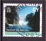 Stamps Jersey -  serie- Colores de la isla