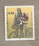 Stamps Europe - Luxembourg -  Ciclista