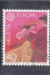 Sellos de Europa - Suiza -  EUROPA CEPT- BAILE