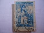 Stamps Argentina -  Transmisión del Mando Presidencial,04.06.1946 - Juan Domingo Perón (1895-1974)