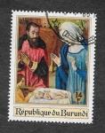 Stamps Burundi -  Natividad