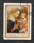 Stamps Burundi -  Virgen y el Niño
