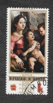 Sellos de Africa - Burundi -  304 - Señora y el Niño con San Juan